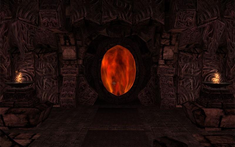 Daedric Portal by Arcimaestro Antares