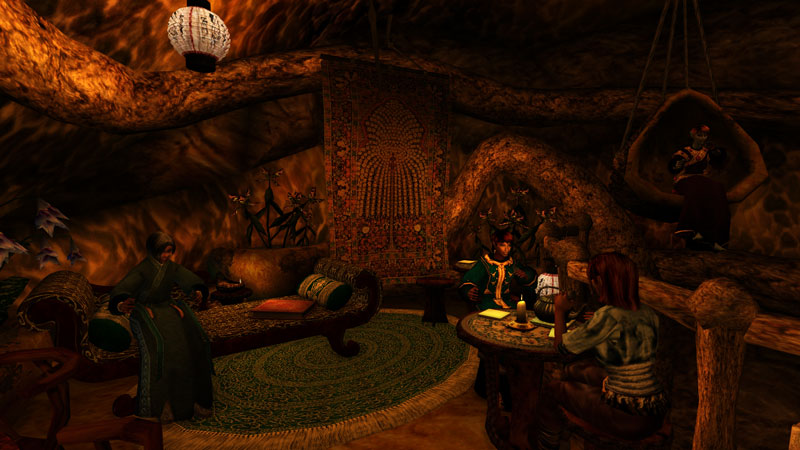 Tea Mod, Morrowind - Tel Mora Dining Room