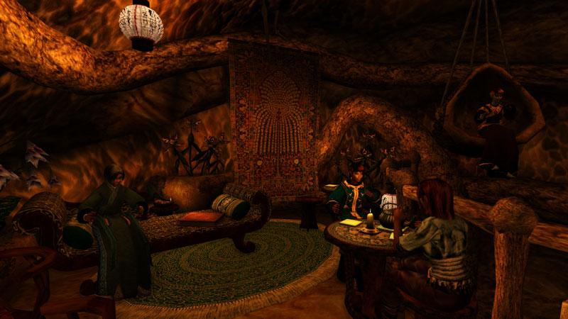Tea Mod, Morrowind - Tel Mora Dining Room