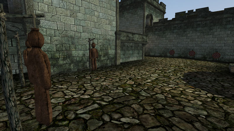 Morrowind Animated Targets and Practice Dummies