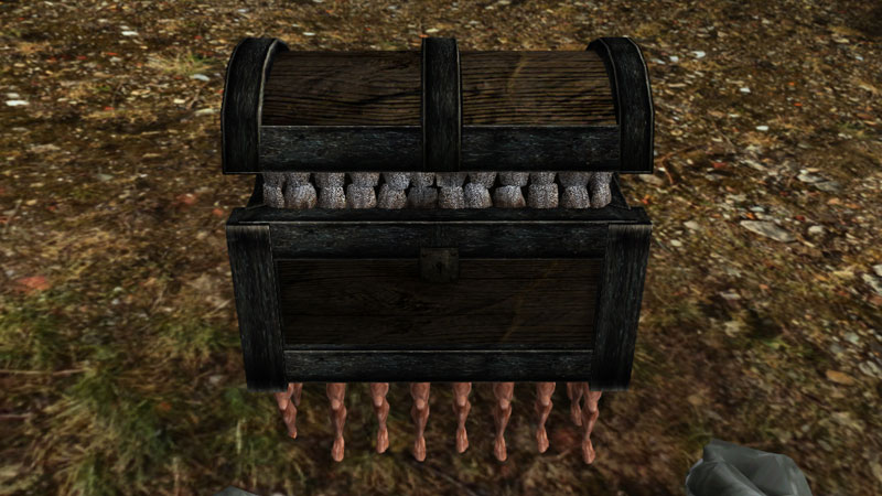 The Luggage from Discworld in Morrowind