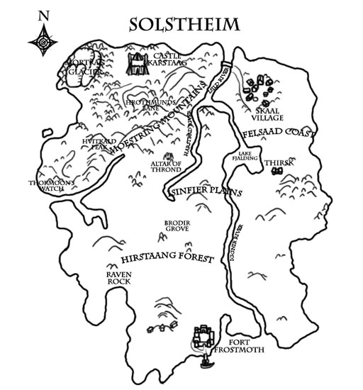 Books of Vvardenfell: Map – Solstheim